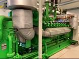 Б/У газовый двигатель Jenbacher 616 GSС87, 2000 Квт, 1997 г. - фото 2