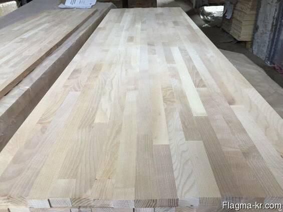 Мебельный щит, сосна, сращенный, edge glue panel
